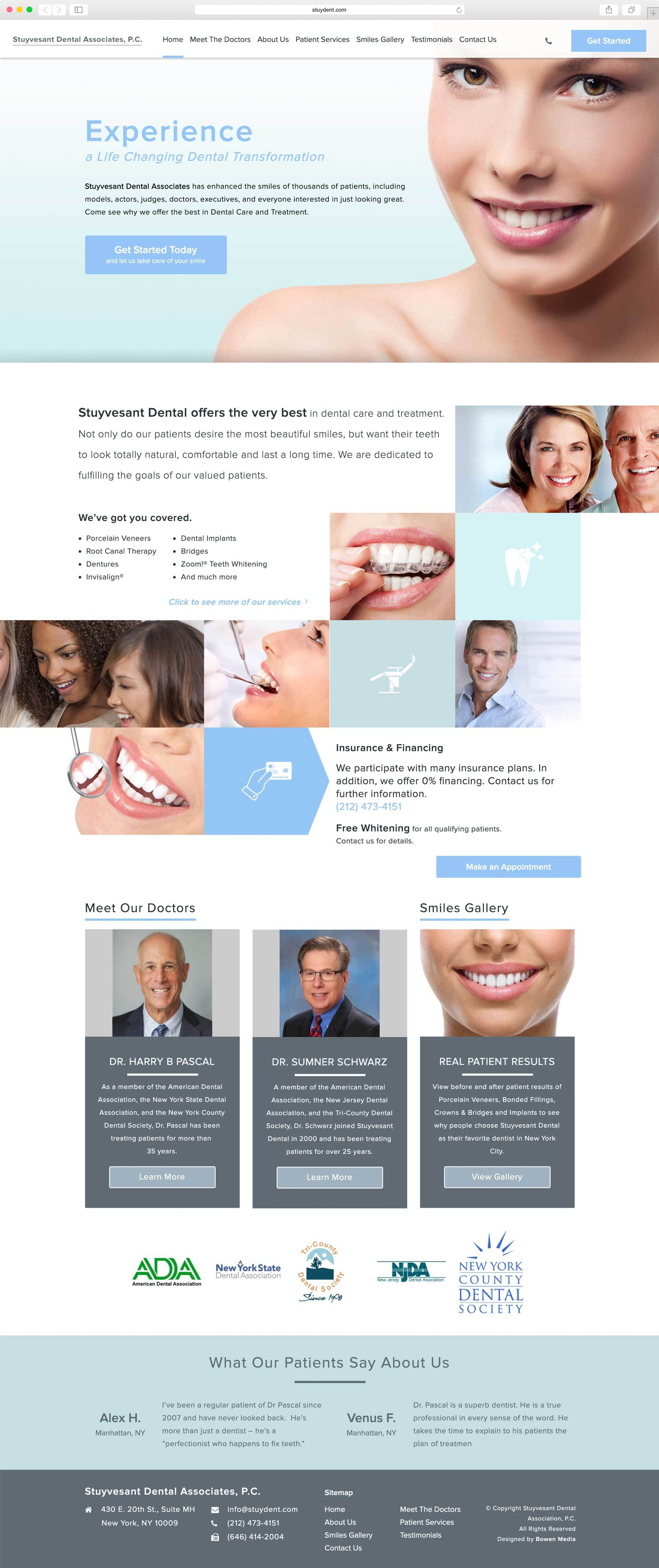 Stuyvesant Dental Associates | Bowen Media
